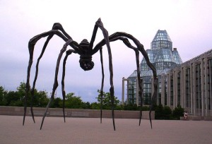 Sculpture Maman de Louise Bourgeois, National Gallery of Canada, Wikimedia Commons