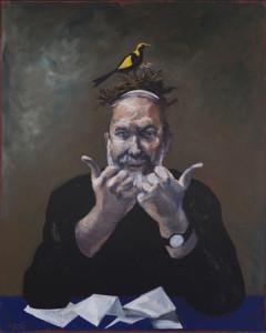 © Gérard Garouste, Le Rabbin et le Nid d'Oiseaux, 2013