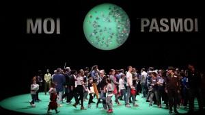 Spectacle 100% Paris, Rimini Protokol, La Villette 2014