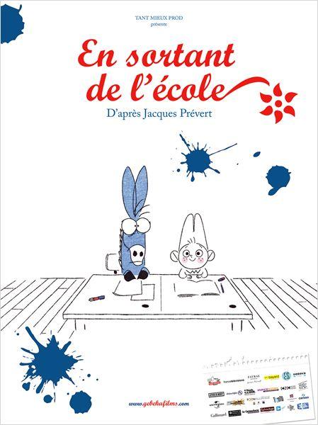 En sortant de l'école, d'après Jacques Prévert