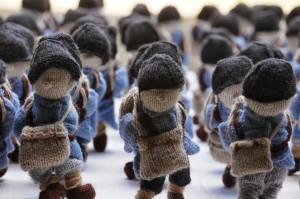 L'armée de laine, Délit Maille