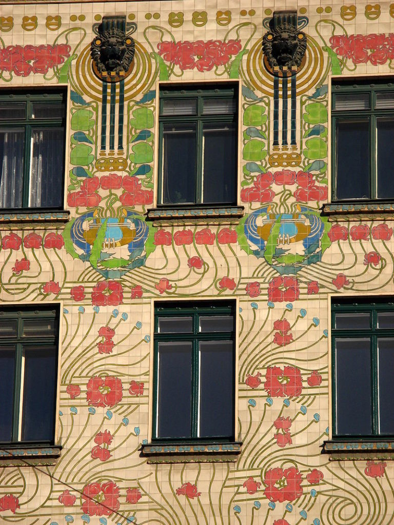 Maison aux Majoliques, Vienne