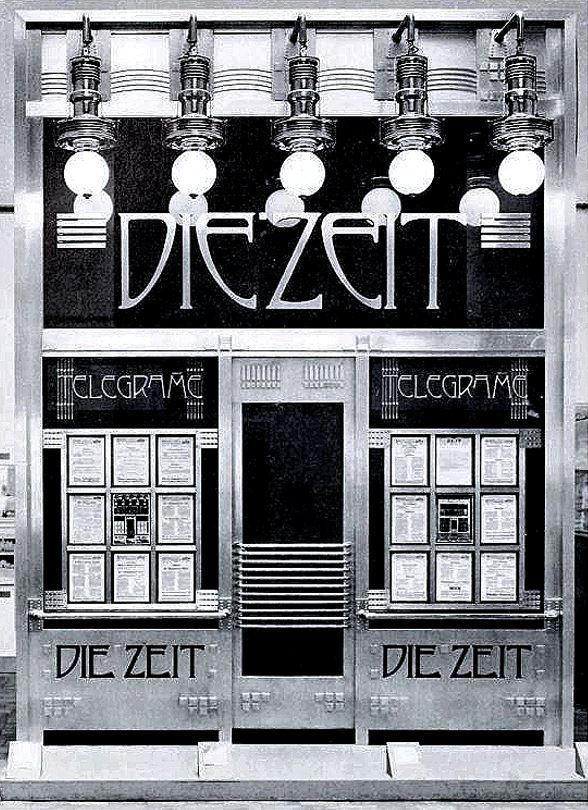 Le bureau des dépêches du Zeit, Vienne